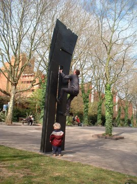 Urban Knights castle_park_bristol_urban_climbing_sculpture